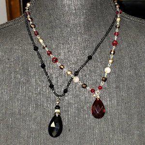 Crystal Goth Necklaces